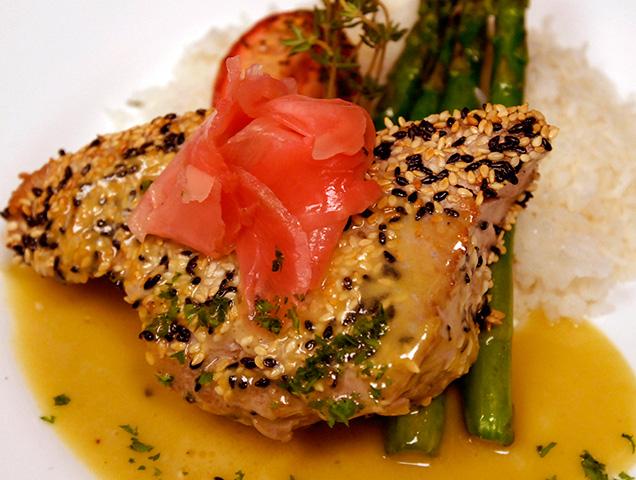 Pan Seared Tuna